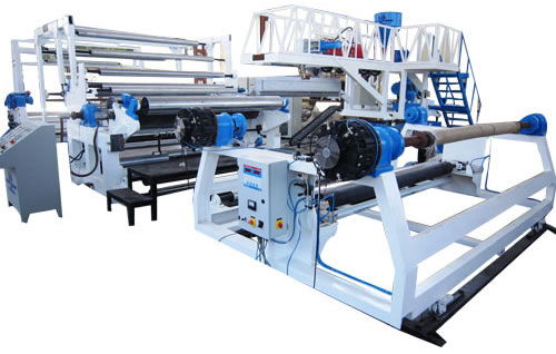 Extrusion Coating Lamination Plant For Tarpaulins And Fibc